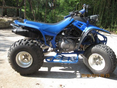 1990 yamaha warrior 350 cc atv for sale round rock texas 78664. Black Bedroom Furniture Sets. Home Design Ideas