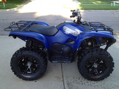 2012 yamaha grizzly 700 cc atv for sale sergeant bluff for Yamaha grizzly 700 for sale