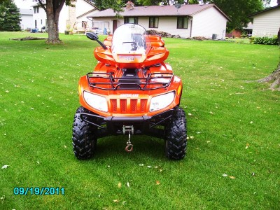 2010 arctic cat 700 700 cc atv for sale cottage grove for Cottage grove yamaha